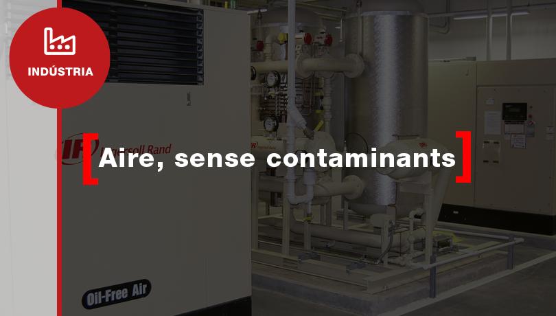 Aire comprimit exempt d'oli i gèrmens