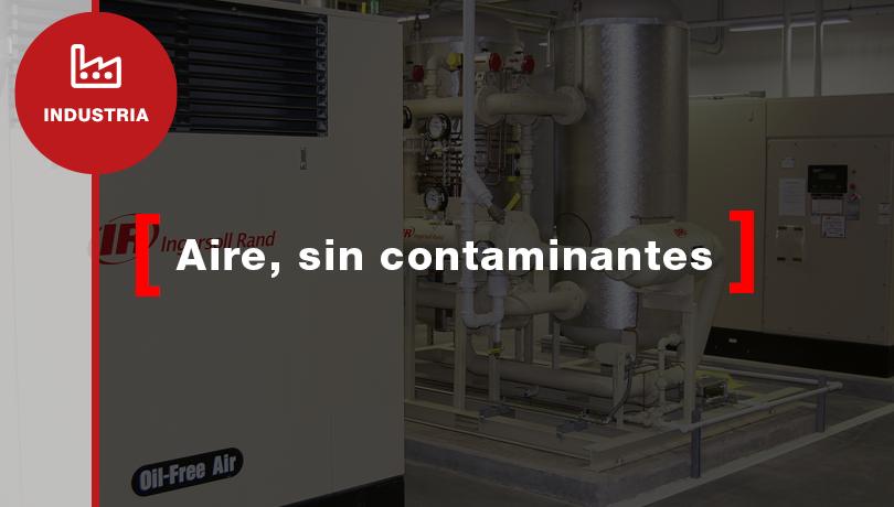 Aire comprimido libre de aceite y gérmenes