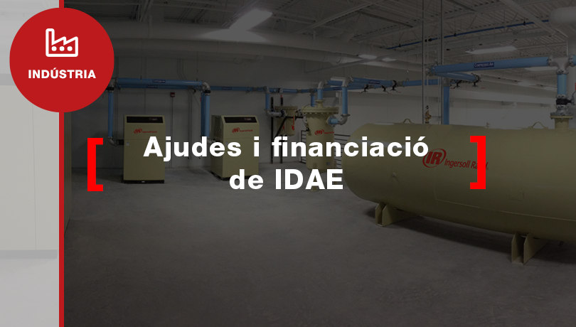 ¿Saps si pots demanar una subvenció IDAE?