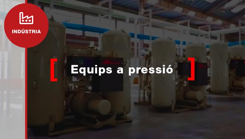 Com legalitzar els meus dipòsits d'aire i aparells de pressió?