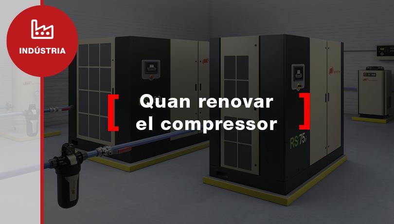 Com saber si necessites renovar els teus compressors d'aire comprimit