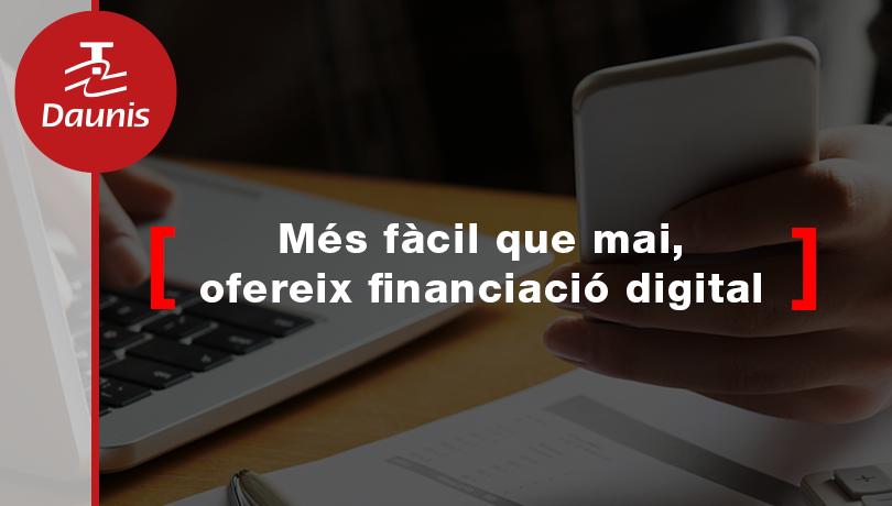 Reactiva les teves ventes oferint financiació amb firma digital, més fàcil que mai