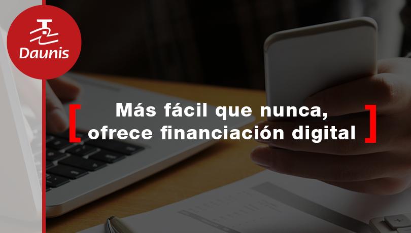 Reactiva tus ventas ofreciendo financiación con firma digital, más fácil que nunca